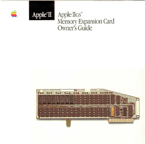 Apple IIgs Memory Expansion Card Owner's Guide