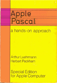 Apple Pascal a hands-on approach